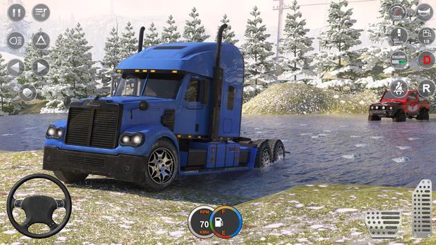大型雪地卡车