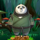 熊猫翻筋斗